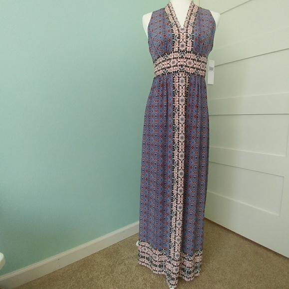 Wisp Dresses & Skirts - NWT Wisp Ella Jersey Maxi Dress 6P